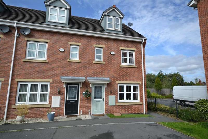 3 Bedrooms Town House for sale in Lavender Gardens, Warrington