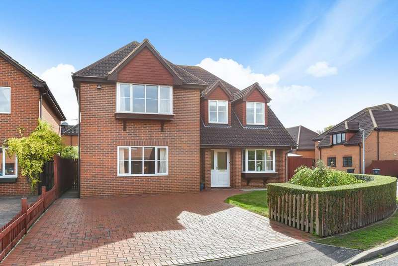 4 Bedrooms Detached House for sale in Highfields, Westoning, MK45
