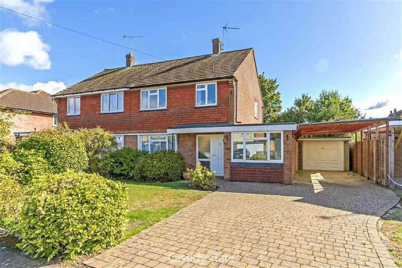 3 Bedrooms Semi Detached House for sale in Wick Avenue, Wheathampstead, Hertfordshire