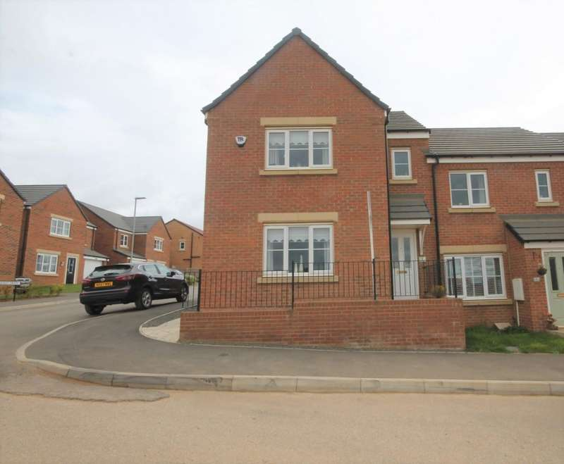 3 Bedrooms End Of Terrace House for sale in Drummond Way, Shildon