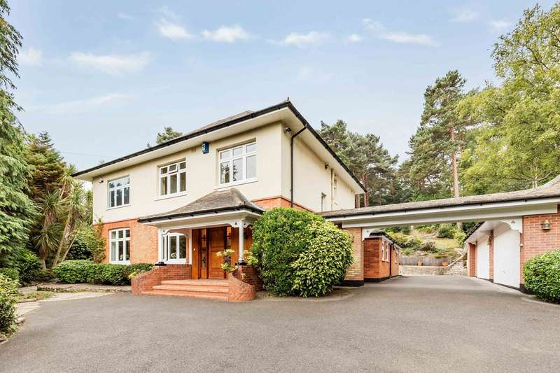 4 Bedrooms Detached House for sale in Branksome Park, Poole, Dorset, BH13