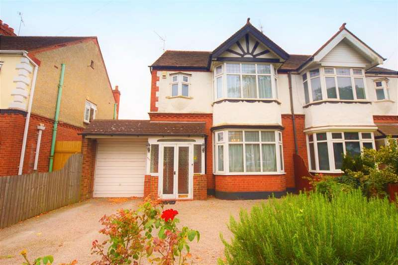 3 Bedrooms Semi Detached House for sale in Dunstable Road, Luton, Bedfordshire, LU4 8QW