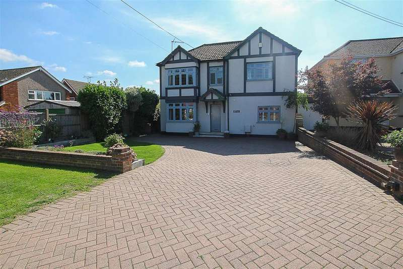 4 Bedrooms Detached House for sale in Hatch Road, Pilgrims Hatch, Brentwood