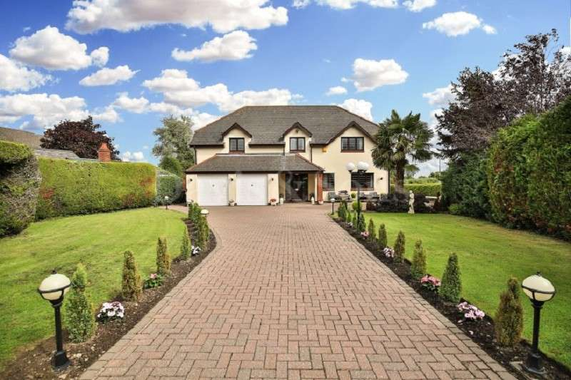 4 Bedrooms Detached House for sale in Farmfield Lane, Nash Village, Newport. NP18 2AR