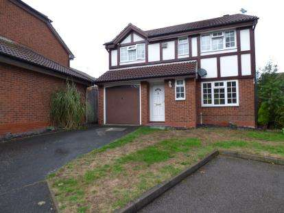 4 Bedrooms Detached House for sale in Binley Close, South Yardley, Birmingham, West Midlands