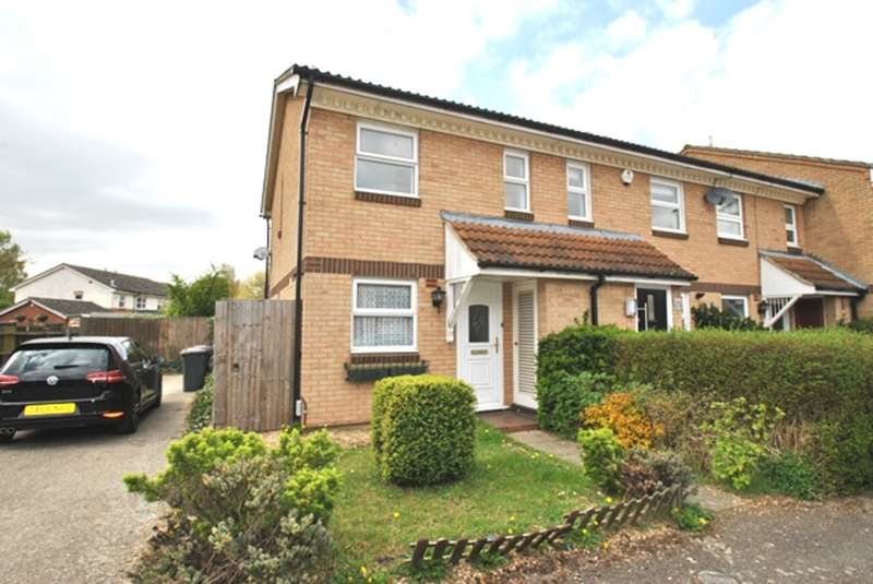 2 Bedrooms End Of Terrace House for sale in Constantine Place, Baldock, SG7