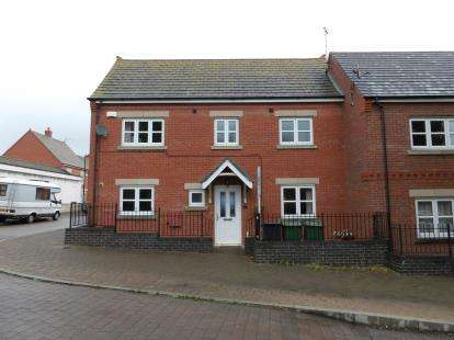 3 Bedrooms End Of Terrace House for sale in Hallam Fields Road, Birstall, Leicester, Leicestershire