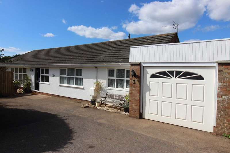 4 Bedrooms Detached Bungalow for sale in Cranford Close, Exmouth