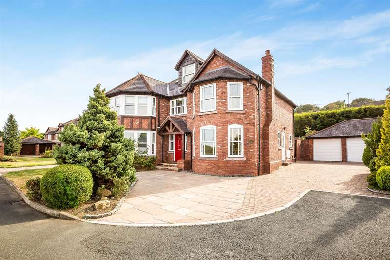 5 Bedrooms House for sale in Marford Hill, Marford, Wrexham