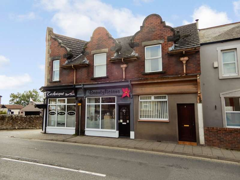 4 Bedrooms Mixed Use Commercial for sale in 50A & 52A Queen Street, Aspatria, Cumbria