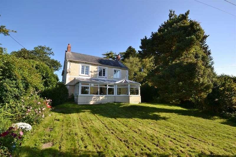 4 Bedrooms Detached House for sale in Heol Smyrna, Llangain, Carmarthen