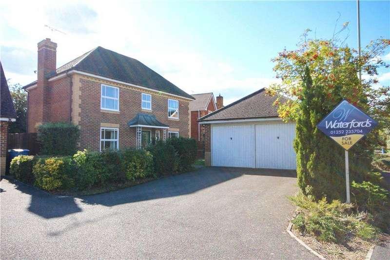 4 Bedrooms Detached House for sale in Brandon Road, Church Crookham, Fleet, Hampshire, GU52