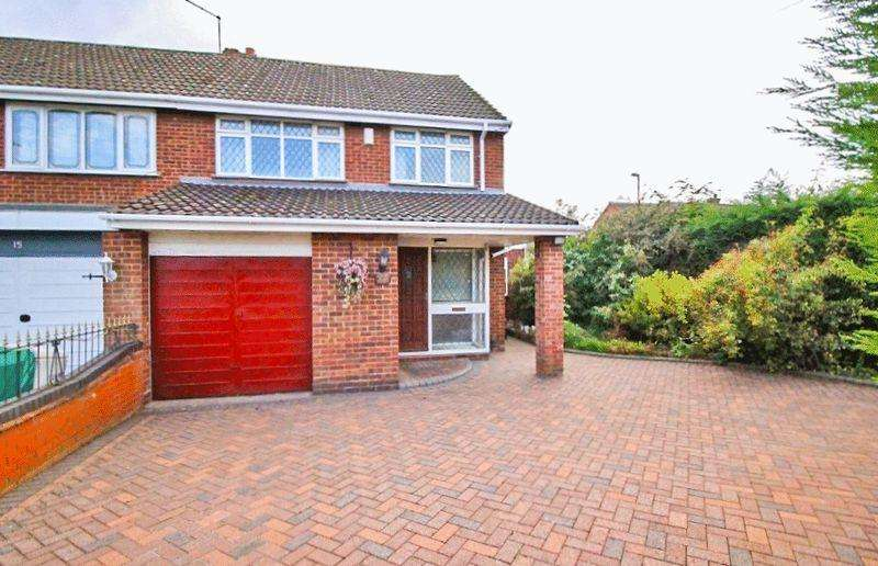 3 Bedrooms Semi Detached House for sale in Haddon Crescent, New Invention