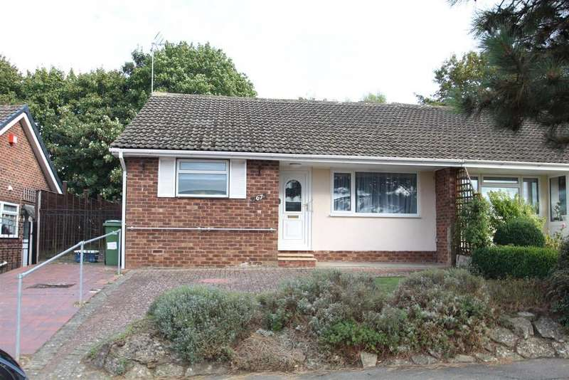 2 Bedrooms Semi Detached Bungalow for sale in Milford Avenue, Stony Stratford, Milton Keynes