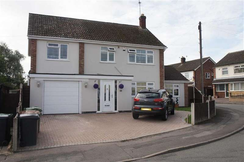 4 Bedrooms Detached House for sale in Princes Close, Anstey