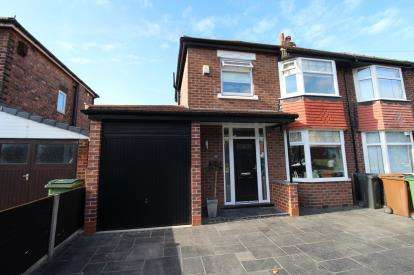 3 Bedrooms Semi Detached House for sale in Aber Road, Cheadle, Cheshire