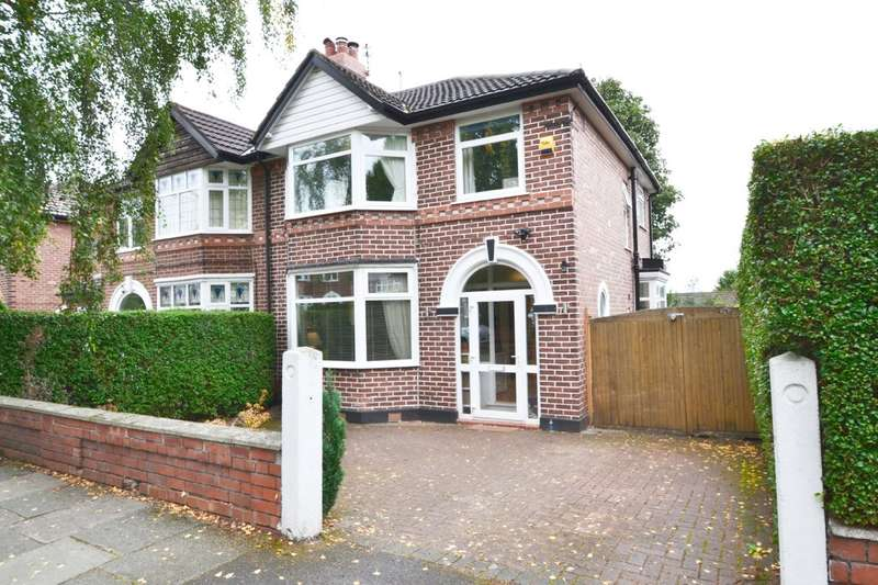 3 Bedrooms Semi Detached House for sale in Highcrest Avenue, Gatley