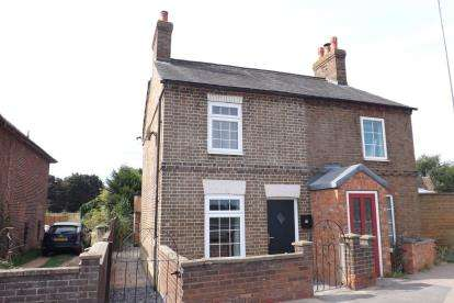 2 Bedrooms Semi Detached House for sale in High Road, Beeston, Sandy, Bedfordshire