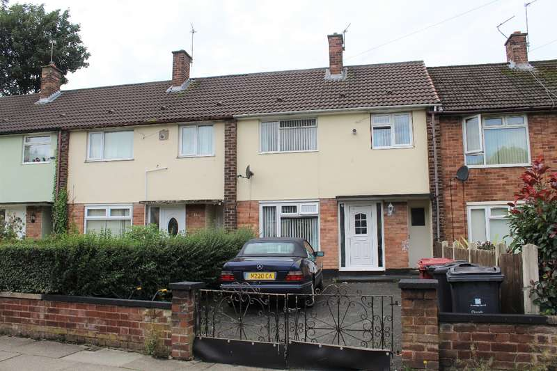 3 Bedrooms Terraced House for sale in Cassino Road Huyton L36