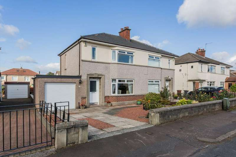 3 Bedrooms Semi Detached House for sale in 12 Rosshall Avenue, Paisley, PA1 3JZ