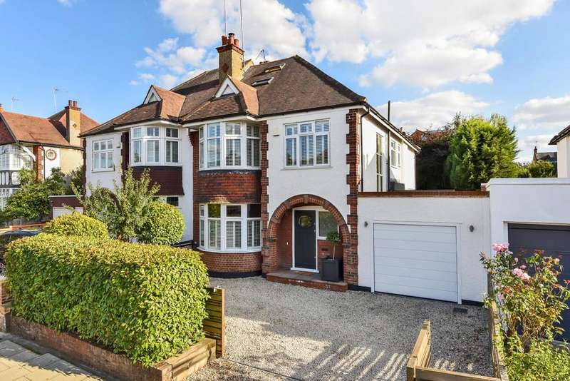 5 Bedrooms Semi Detached House for sale in Creighton Avenue, East Finchley