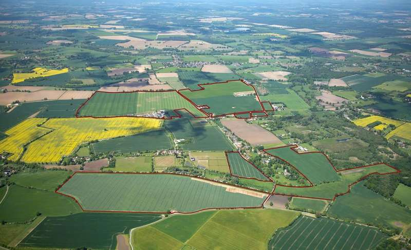 Land Commercial for sale in LOT 2 - Cross Green Farm