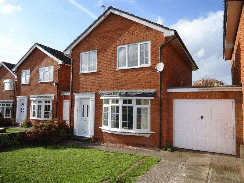 3 Bedrooms Detached House for sale in Croesonen Parc, Mardy, Abergavenny