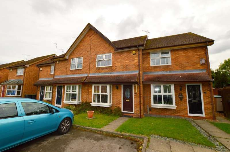 2 Bedrooms Terraced House for sale in Sacombe Green, Barton Hills, Luton, LU3 4EW