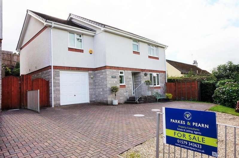 4 Bedrooms Detached House for sale in Limes Lane, Liskeard