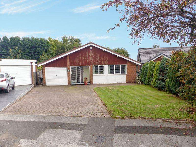 3 Bedrooms Detached Bungalow for sale in Bird End, West Bromwich, West Midlands