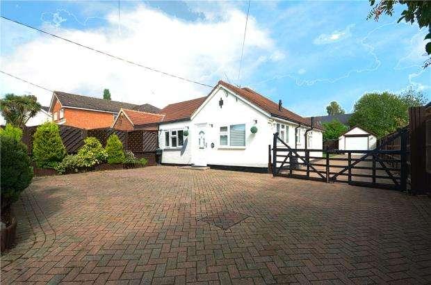 3 Bedrooms Semi Detached Bungalow for sale in Owlsmoor Road, Sandhurst, Berkshire