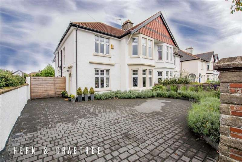 4 Bedrooms Semi Detached House for sale in St Michaels Road, Llandaff, Cardiff