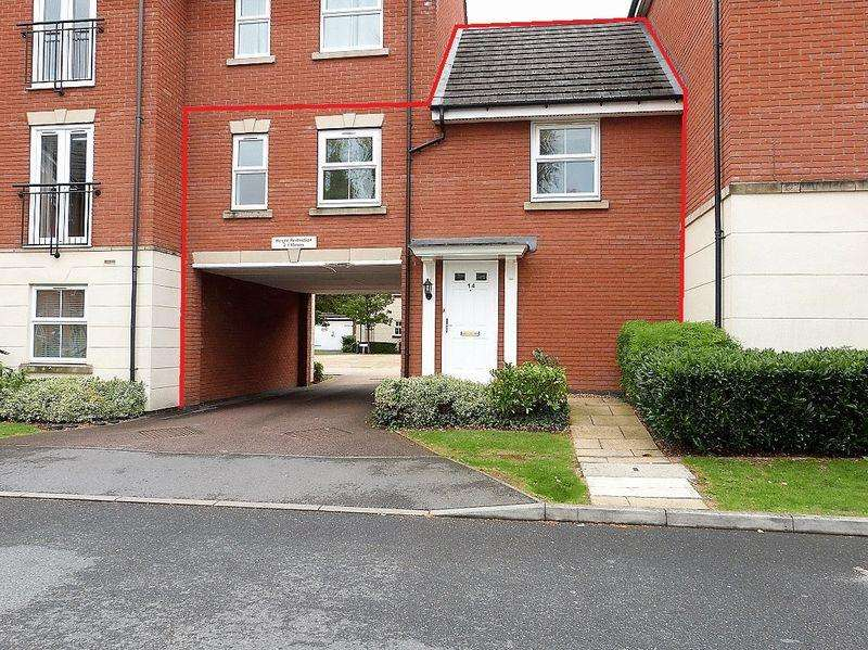 1 Bedroom Maisonette Flat for sale in Old Station Road, Syston