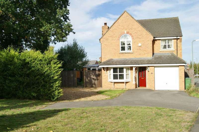 4 Bedrooms Detached House for sale in St. Giles Park, Gwersyllt