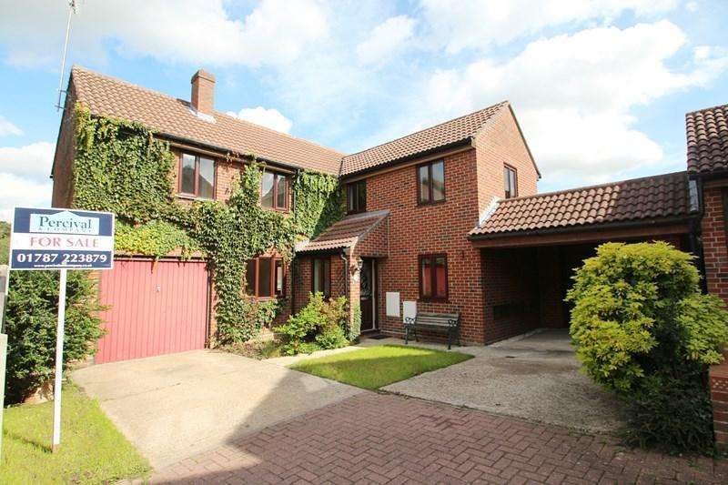 4 Bedrooms Detached House for sale in Homefield Way, Earls Colne, Colchester