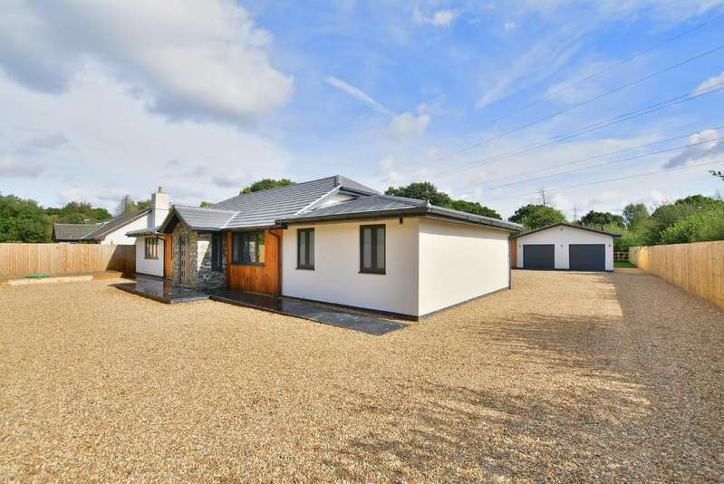 4 Bedrooms Detached Bungalow for sale in Newmans Lane, West Moors
