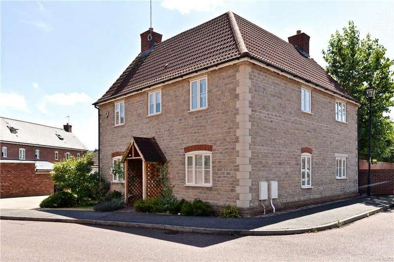 4 Bedrooms Detached House for sale in Glebe Farm Close, Collingtree, Northamptonshire