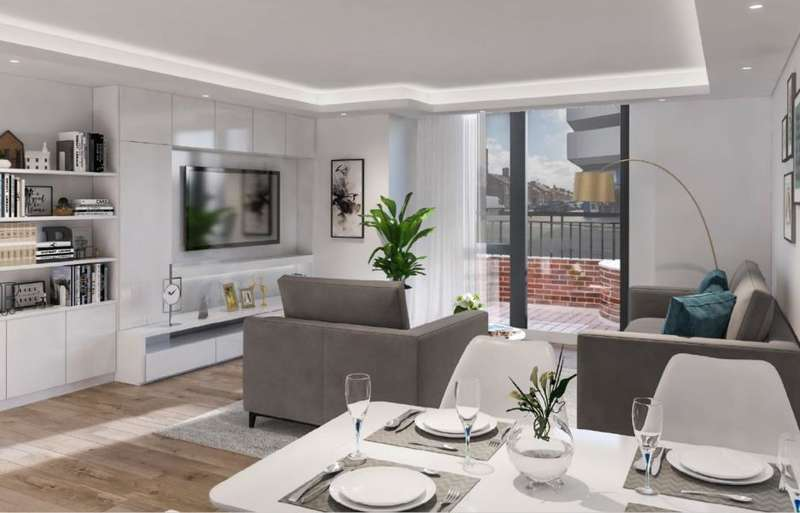 2 Bedrooms Apartment Flat for sale in The Digbeth, Birmingham, B12