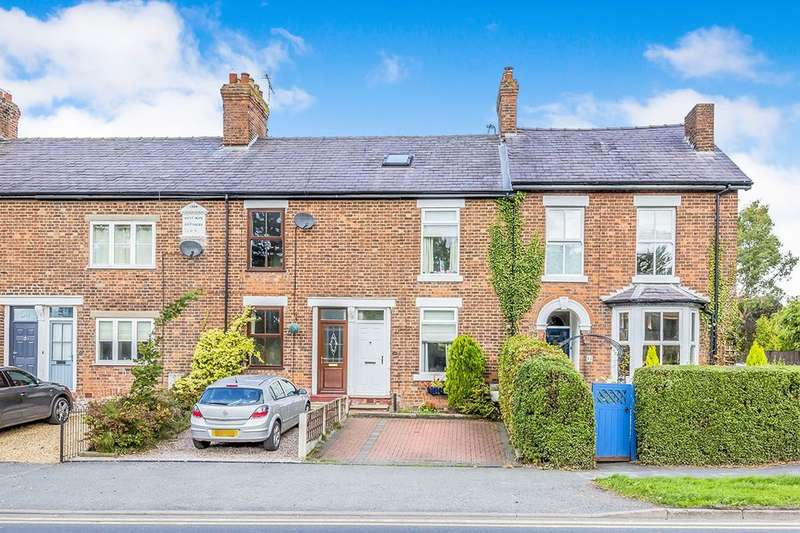 3 Bedrooms Terraced House for sale in Middlewich Road, Holmes Chapel, Crewe, CW4