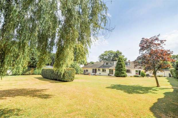 3 Bedrooms Chalet House for sale in Holtwood, Holt, WIMBORNE, Dorset