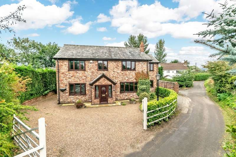 4 Bedrooms Detached House for sale in Radley Lane, Houghton Green, Warrington