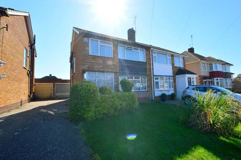 3 Bedrooms Semi Detached House for sale in Swifts Green Road, Putteridge, Luton, LU2 8BW