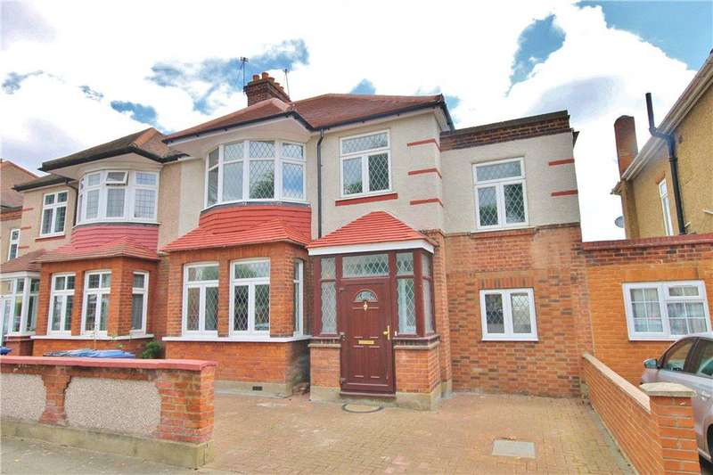 4 Bedrooms Semi Detached House for sale in Cawdor Crescent, London, W7