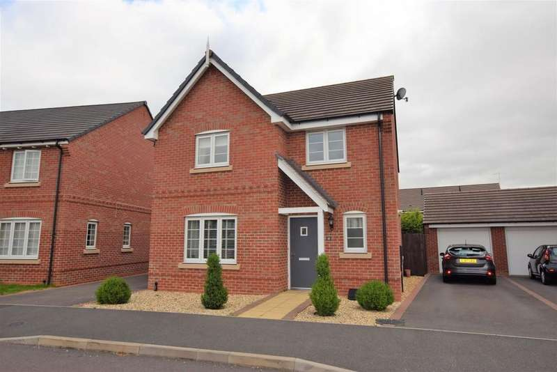 4 Bedrooms Detached House for sale in Old Farm Lane, Newbold Verdon