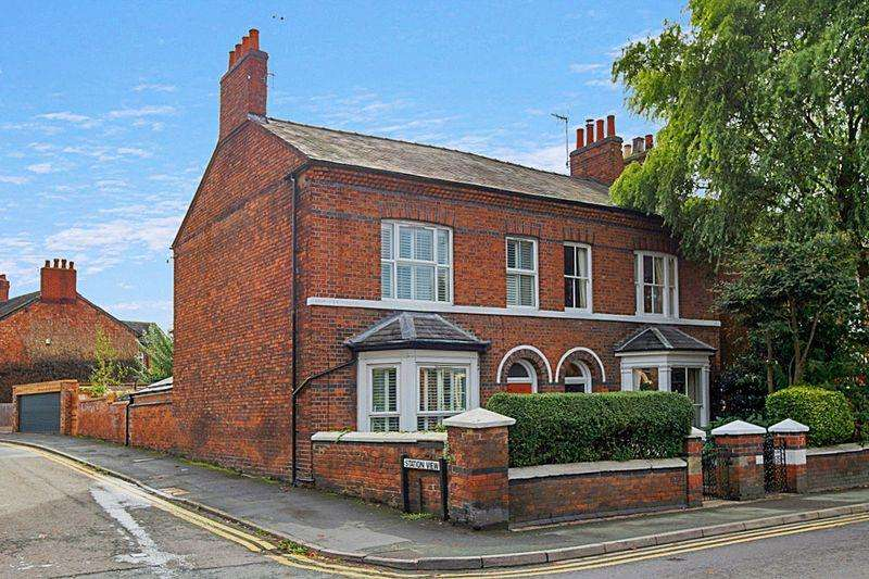 4 Bedrooms Semi Detached House for sale in Wellington Road, Nantwich