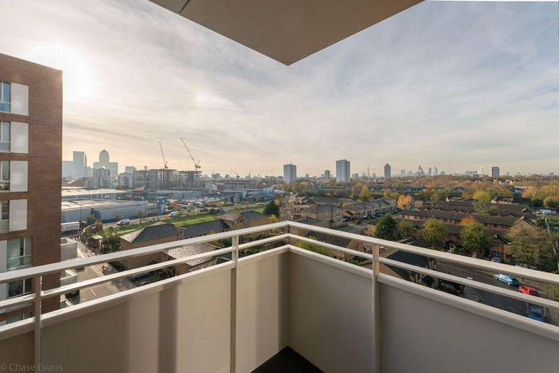 3 Bedrooms Apartment Flat for sale in Ivy Point, 5 Hannaford Walk, Bromley-By-Bow, London, E3
