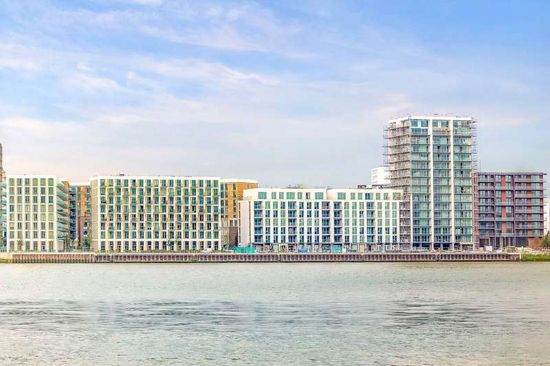 3 Bedrooms Apartment Flat for sale in The Admiralty, Royal Wharf, London, E16