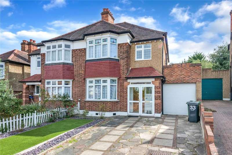 4 Bedrooms Semi Detached House for sale in Roxburgh Road, West Norwood, London, SE27
