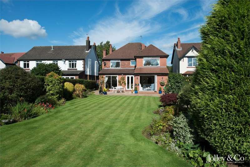 5 Bedrooms Detached House for sale in 8 Park Avenue, Poynton, Stockport, Cheshire