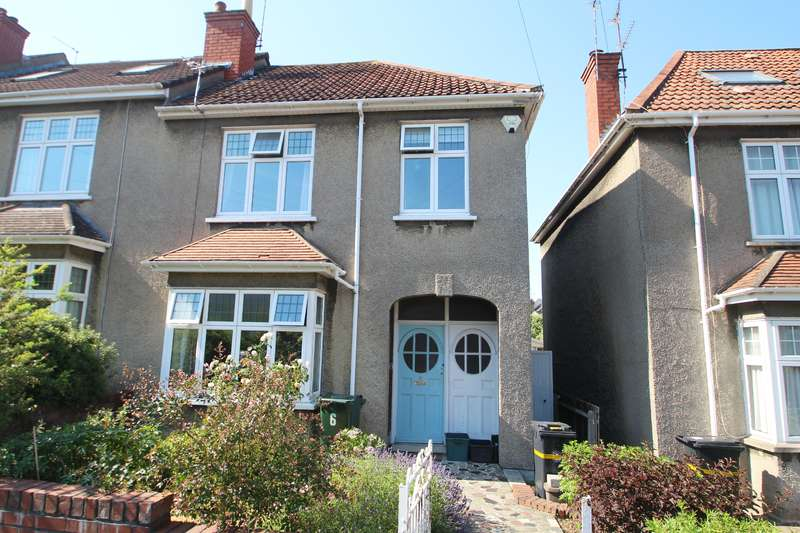 3 Bedrooms End Of Terrace House for sale in Branksome Road, Redland, Bristol BS6 7LL